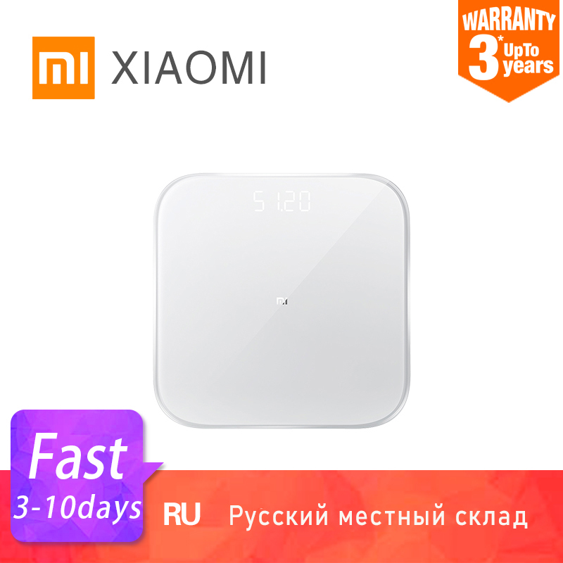 XIAOMI Smart-Weight-Scale Led-Screen Lose Digital Bluetooth Baby Electronic Fitness 2