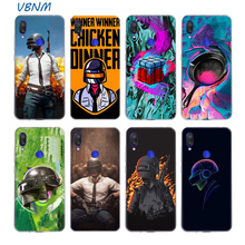 PUBG GAME Riverdale Silicone Phone Case For Xiaomi
