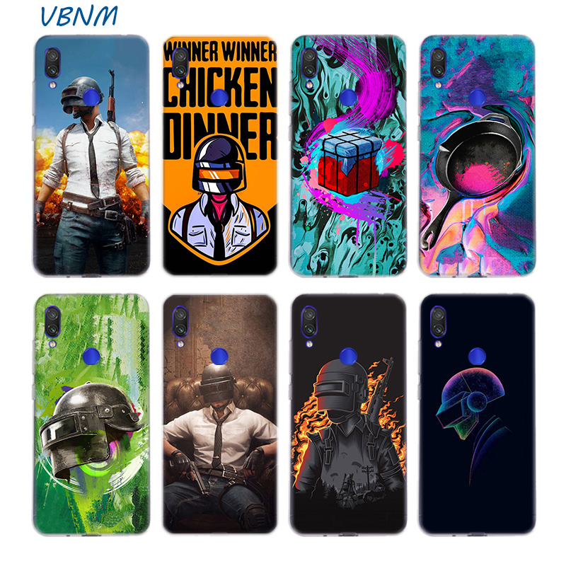 PUBG GAME Riverdale Silicone Phone Case For Xiaomi Redmi Note 8 7 6 Pro 5 4 4X K20 7A S2 5A 6A Y3 Xiomi A3 9T 9 SE F1 S2 Cover image