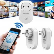 WiFi Smart Socket Wireless Remote Control Switch Timer Smart Power Socket US Plug AC100~240V 2000W 10A For Home
