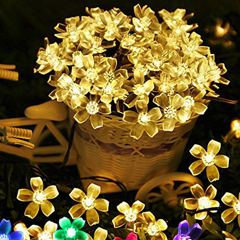 EU Plug 220V LED String Lights USB DC 5V Christmas Garland LED Fairy Lights String Holiday Party Wedding Decoration Home 5m/10m