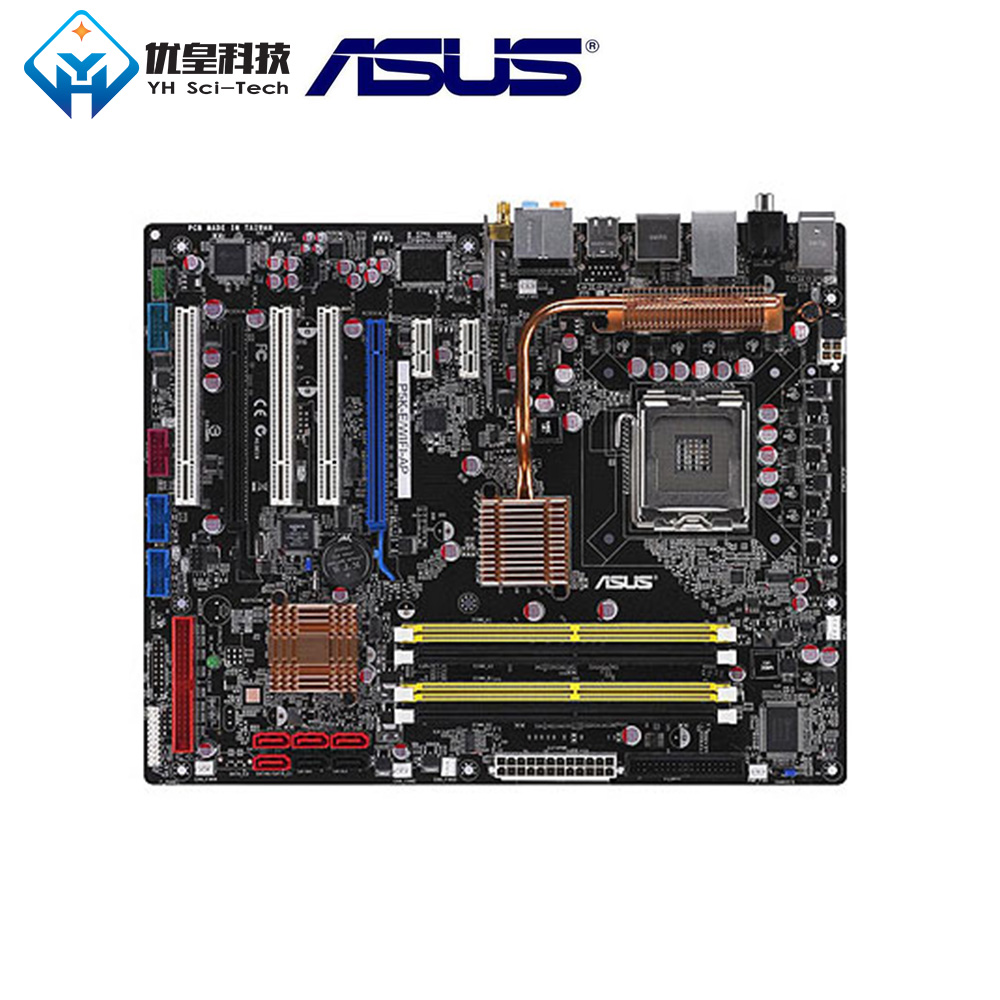 Asus P5K-E/WIFI-AP Intel P35 Original Used Desktop Motherboard Socket LGA 775 DDR2 ATX