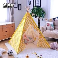Pequena turtledove tenda indiana 100% algodão lona tenda infantil jogo casa exportação tenda infantil   -