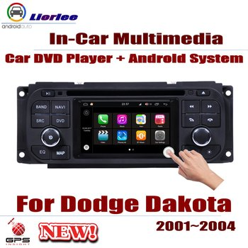 For Dodge Dakota 2001~2004 Car Android Player DVD GPS Navigation System HD Screen Radio Stereo Integrated Multimedia