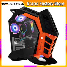 Pc Case Computer-Case Gamer Desktop Large-Chassis Gaming Darkflash K1 Personality-Style
