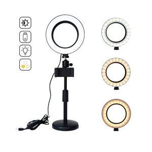 Светодиодный кольцевой светильник для студийной фотосъемки, светильник для фотосъемки, светодиодный заполняющий светильник, аксессуары д...