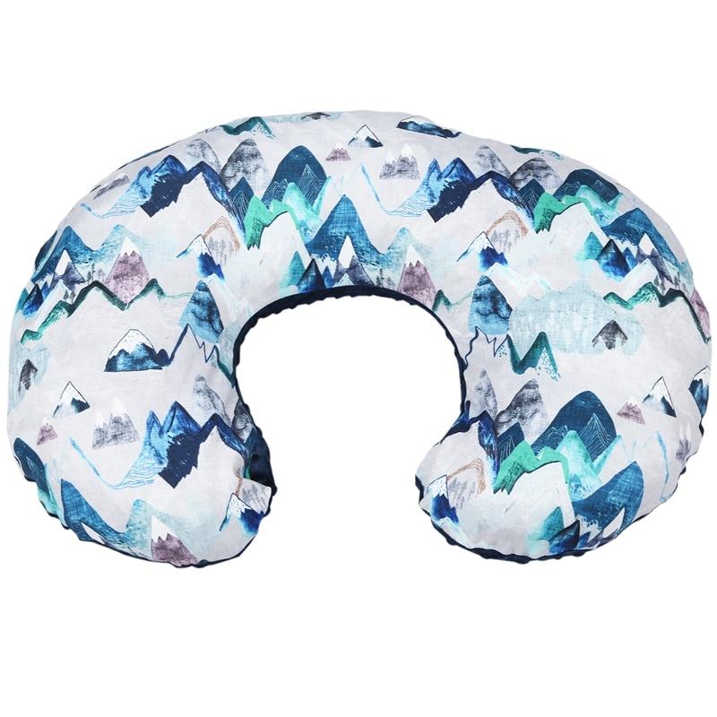 Nursing Newborn Infant Baby Breastfeeding Pillow Cover Nursing Slipcover Protector Modern Case Removable Elastic Pillow Covers