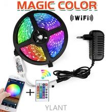 YLANT LED Strip 15M Led Lights Strip Tape 5050 SMD 2835 5M 10M DC 12V Waterproof Color Changable LED Ribbon LED strip