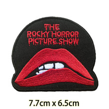 Rocky Horror Picture Show Patch Iron on Applique,  horror movie halloween jacket jean DIY clothing patch