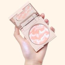 Funny Elves Highlighter Makeup Shimmer Glow Cosmetics Brighten Long Lasting Blush Pearl Glitter