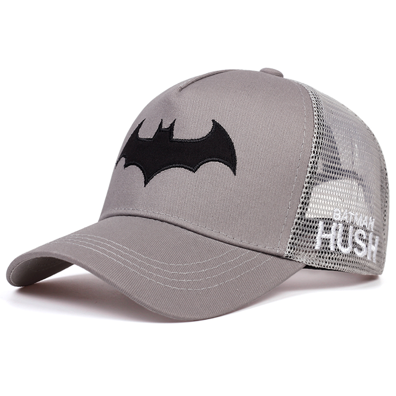 New Bat Embroidered Baseball Cap Fashion Hip Hop Caps Men And Women General Snapback Hat Outdoor Sports Golf Hats