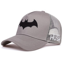 New Bat Embroidered Baseball Cap Fashion Hip Hop Caps Men and Women General snapback hat Outdoor Sports Golf Hats(China)