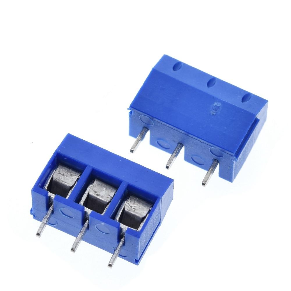 3 Pin Screw Terminal Block Connector 5mm Pitch 5.08-301-3P 301-3P 3pin