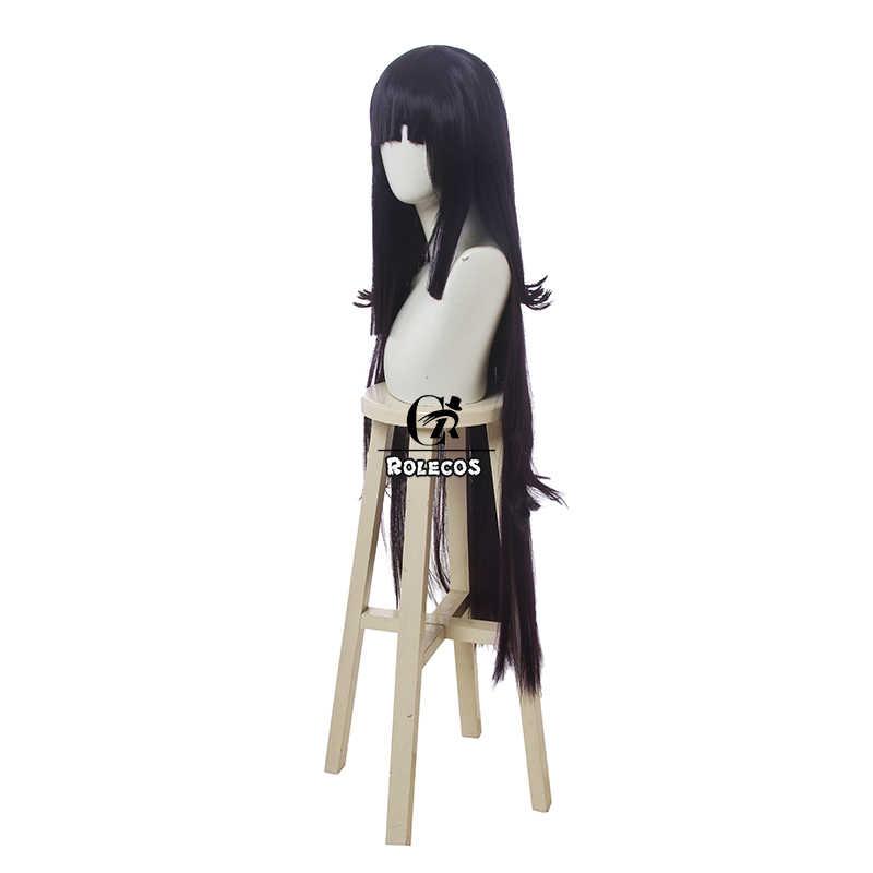 100 cm 39,37 pouces de long Yamia Mikan Tsumiki Cosplay perruque pour Danganronpa femmes filles parti perruques avec capuchon gratuit
