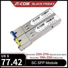 5 Đôi 1 GB SC 5Km/20Km SFP Module Quang Gigabit Chế Độ Đơn Thu Phát Cáp Tương Thích với Cisco Switch