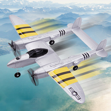 P38 2.4G Indoor Model Remote Control Flying Mini Kids Fixed Wing Airpla