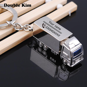 Creative Car KeyChain Customized Antilost Key Chain Small Chic Keyring for Men Women DIY Engrave Name Customized Lettering