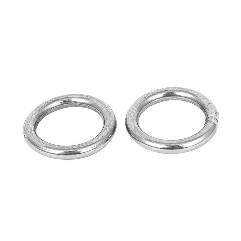 20mm x 3mm correas de acero inoxidable correas soldadas O anillos 5 uds