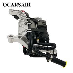 Image 4 - For VW Touareg NF II 2010 with bracket&New Cayenne II 92A Air Suspension Compressor Oem#7P0698007A 7P0698007B 7P0616006E