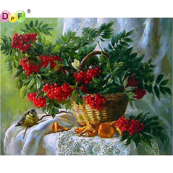5D DIY Diamond Painting round/square flower Cross Stitch Diamond Embroidery kits Diamond Mosaic home Decorative drill image