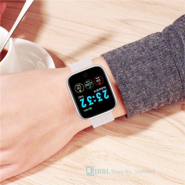 New Silicone Digital Watch Men Sport Women Watches Electronic LED  Ladies Male Wrist Watch For Men Women Clock Female Wristwatch 3