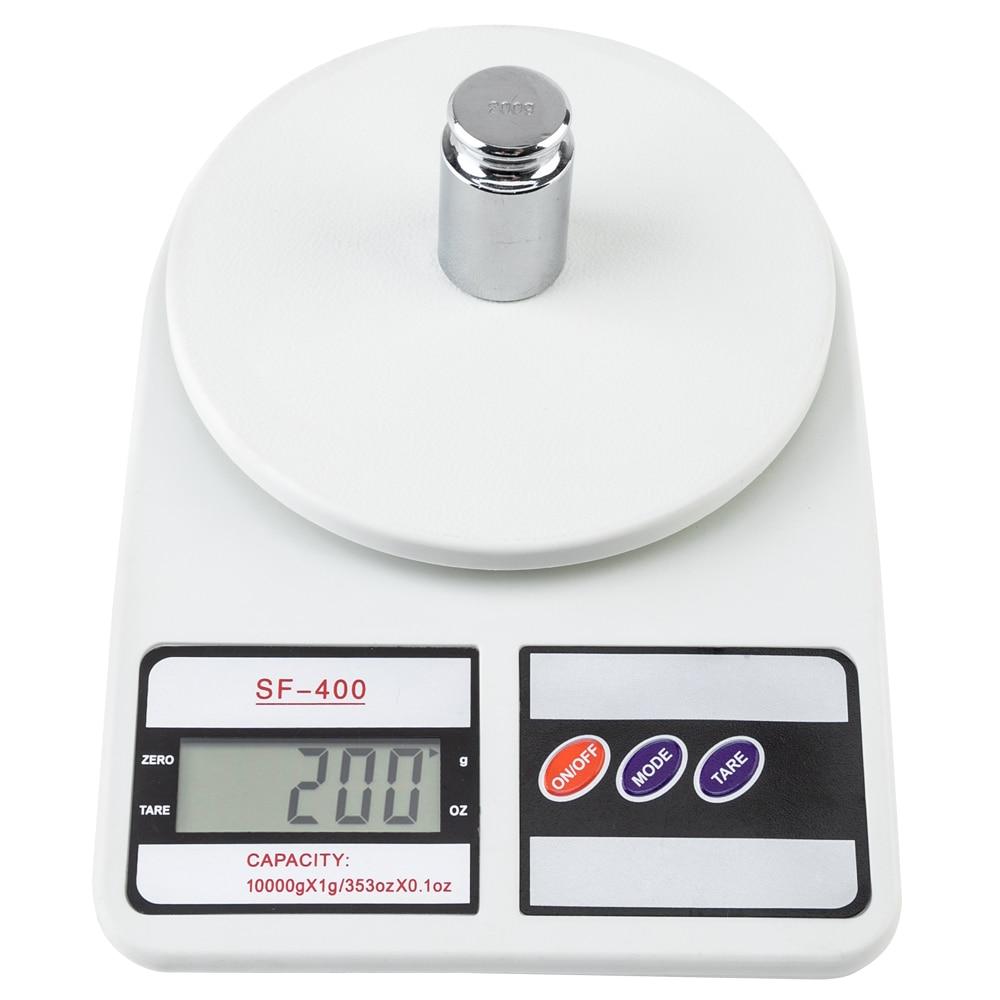Цифровые Мини-весы, высокоточный Карманный безмен с подсветкой, максимальный вес 10 кг/1 г, отображение в граммах, для ювелирных изделий, кухонный инструмент, электронные весы-0