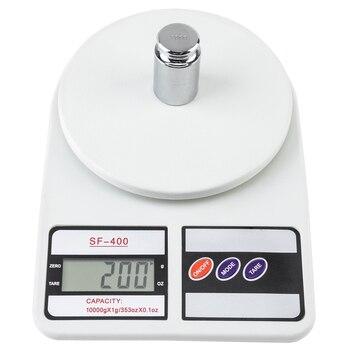 Цифровые Мини-весы, высокоточный Карманный безмен с подсветкой, максимальный вес 10 кг/1 г, отображение в граммах, для ювелирных изделий, кухонный инструмент, электронные весы