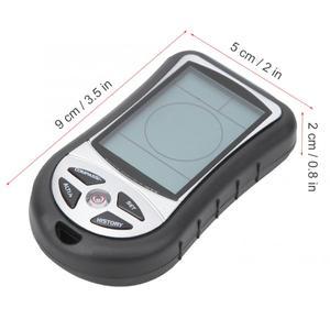 Image 5 - Gps multifuncional 8 em 1, mini localizador de navegação gps receptor digital alímetro barômetro bússola para viagem ao ar livre