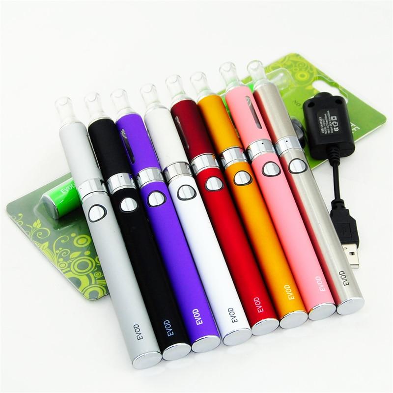 EVOD MT3 1100mah Electronic Cigarette Blister Kit 1.6ml MT3 Atomizer EVOD Battery Ego Usb Charger E Cigarette Vape Pen Kit