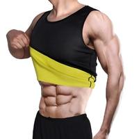 Slimming Belt Belly Men Slimming Vest Body Shaper Neoprene Abdomen Fat Burning Shaperwear Waist Sweat Corset Weight Hot
