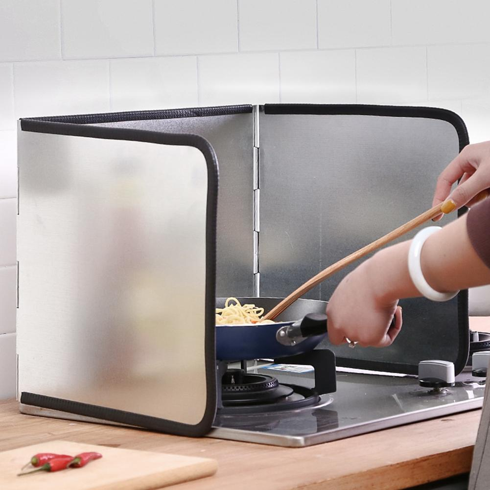 ZengBuks D/éflecteur dhuile de Cuisine Protection Contre Les /éclaboussures dhuile de Cuisson Po/êle /à Frire /Écran Anti-/éclaboussures Couverture Anti-/éclaboussures Garde Bouclier Outil de Cuisine
