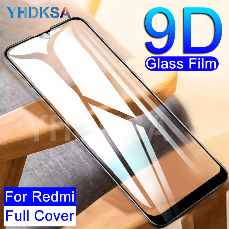 9D Tempered Glass For Xiaomi Redmi Note 8 7 6 Pro Screen Protector Protective Glass Redmi 8 8A 7 7A 6A Go K20 6 Pro Glass Film