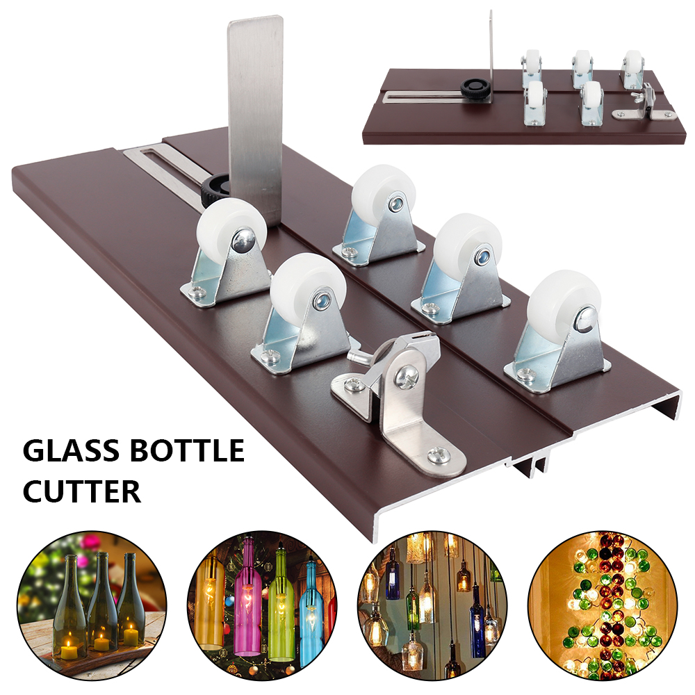 10PCS Glass Bottle Cutter Cutting DIY Machine For Cutting Wine Beer Whiskey Alcohol Champagne Craft Glasses Accessories Tool Kit