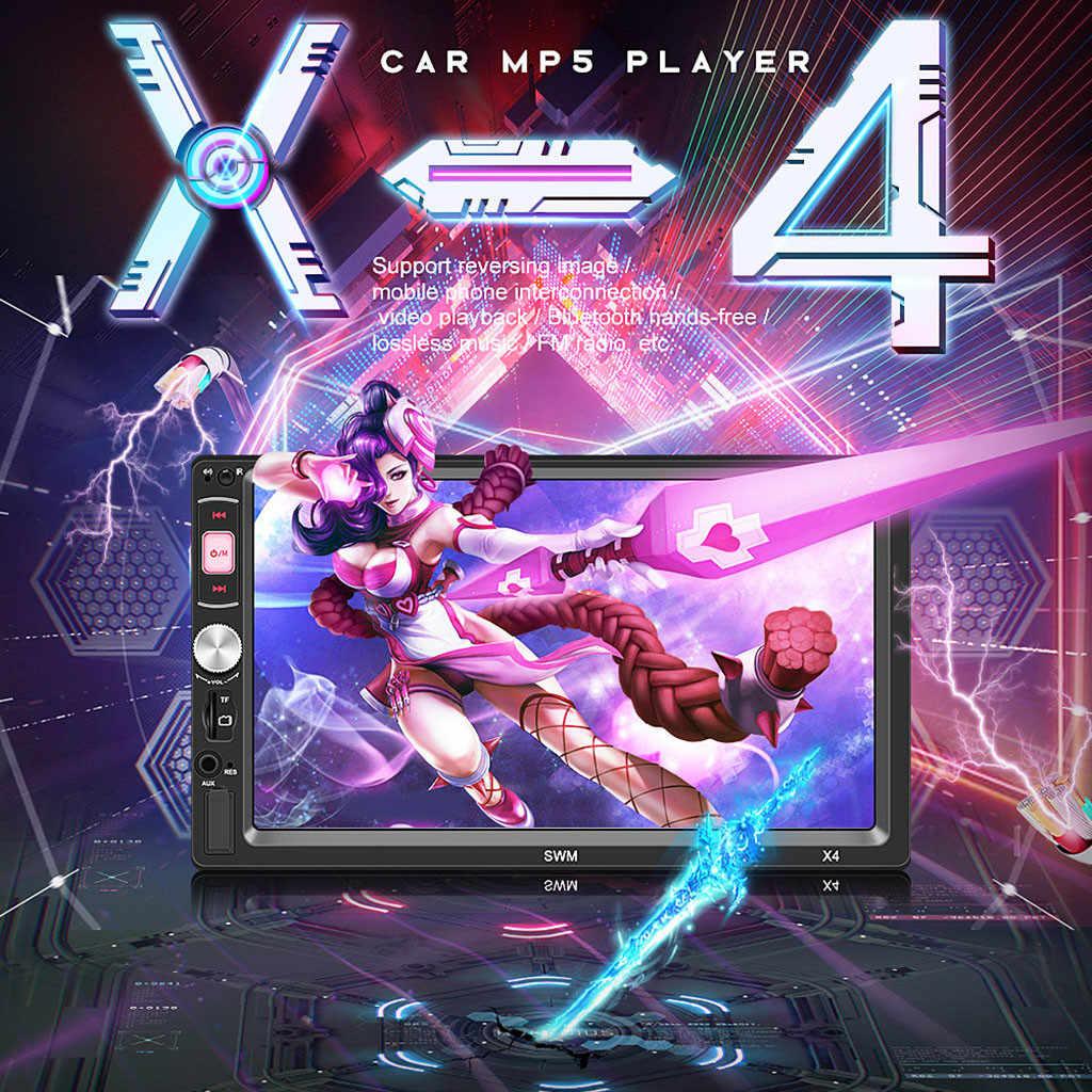 SWM-4X 7 بوصة HD BT سيارة MP5 لاعب سيارة الصوت والفيديو MP4 بطاقة يو القرص راديو FM بالجملة المورد دروبشيبينغ