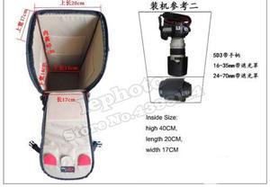 Image 5 - デジタル一眼レフカメラバッグハンドバッグ望遠レンズケース防水多機能タムロンシグマ150〜600ミリメートル、ニコン200 500ミリメートル、ソニーfe 200 600ミリメートル