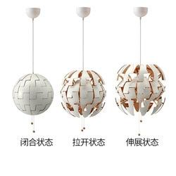 Przekształć nowoczesny sufit oświetlenie w stylu nordyckim oprawy sufitowe lampy wiszące LED żyrandole w Wiszące lampki od Lampy i oświetlenie na