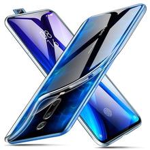 Ultra ince cep telefonu kılıfları Xiaomi Mi 9T / 9T Pro arka kapak kılıf 360 kamera koruyucu mi9TPro 9TPro silikon TPU Coque