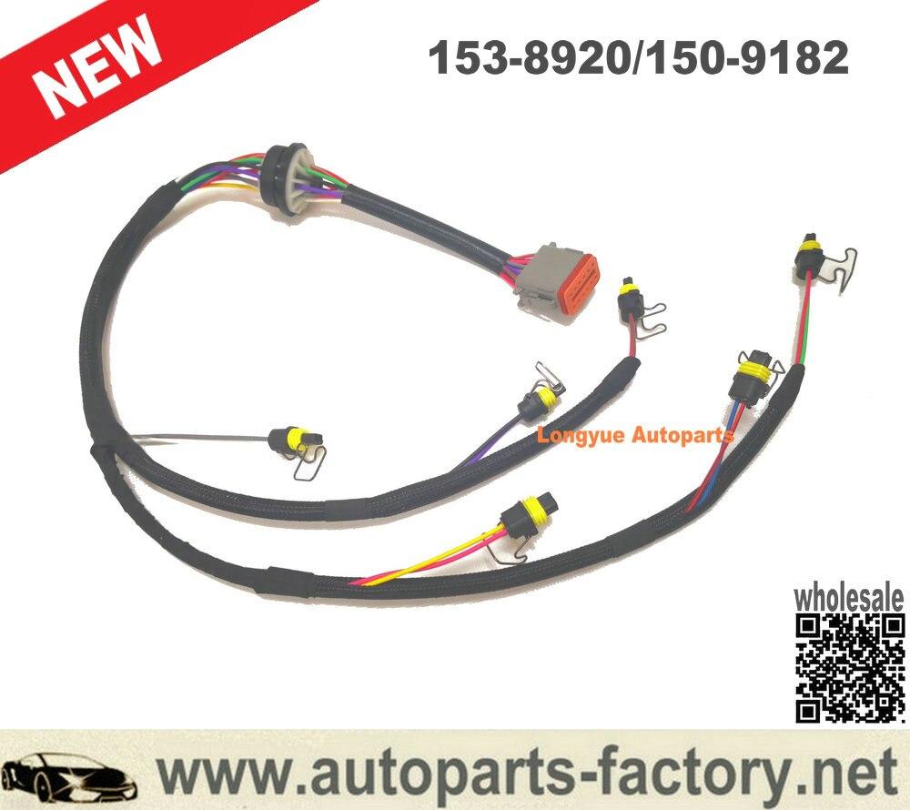 Longyue Caterpillar 3126b 3126e 3126 Injector Control Wiring Harness Part# 153-8920/150-9182