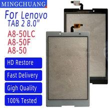 8.0 Polegada para lenovo tab 2 A8-50F A8-50LC A8-50 digitador da tela de toque sensor vidro painel digitador