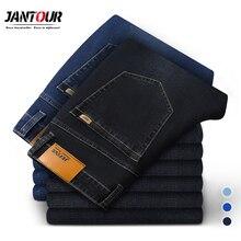 2020 nowe dżinsy bawełniane mężczyźni wysokiej jakości znanych marek Denim spodnie miękkie męskie zimowe grube jean mody duże size40 42 44 46