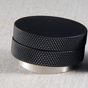 Image 3 - Tamper de café 58.35mm base convexa aço inoxidável aperto ajustável lidar com feijão barista espresso calcadeira palma pressão da cozinha ferramenta