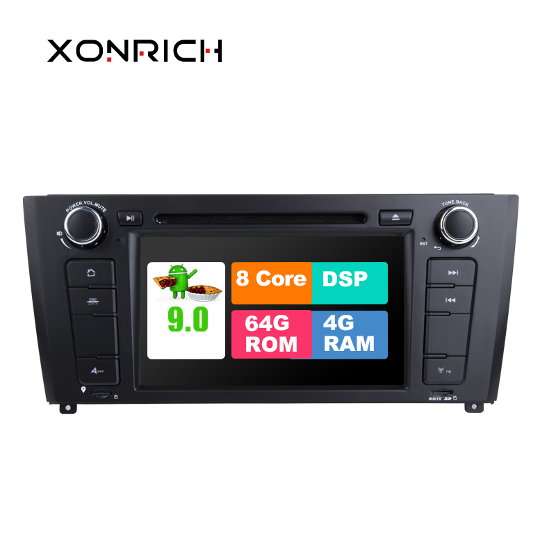 1 Din Autoradio <font><b>Android</b></font> <font><b>9.0</b></font> Car DVD player For <font><b>BMW</b></font> 1 Series E81 E82 <font><b>E87</b></font> E88 116i 118i GPS Navigation Headunit multimedia stereo image