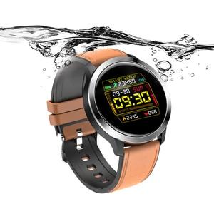 Image 3 - UGUMO hommes affaires montre intelligente ECG Fitness Tracker étanche IP68 Sport Smartwatch fréquence cardiaque moniteur doxygène rappel dappel E70