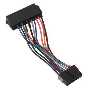 Power Supply Cable Cord Wire 15mm ATX 24 Pin To 14 Pin Adapter Converter Cable for Lenovo IBM Dell Q77 B75 A75 Q75 Motherboard