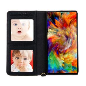 Image 5 - Wallet Case Flip Cover For Samsung Galaxy S20 Ultra S8 S9+ S10 5G NOTE 8 9 10+ Plus Photo Card Slot Magnetic Leather case funda