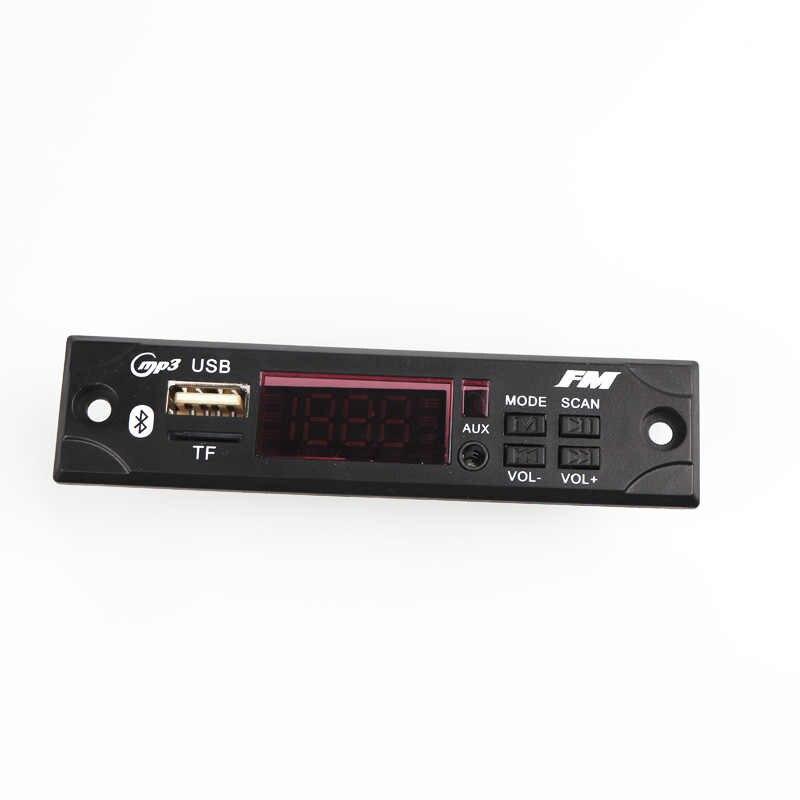 12V Mp3 デコーダカーオーディオの Usb TF FM ラジオモジュールワイヤレス Bluetooth MP3 Wma デコーダボード MP3 プレーヤーリモート制御