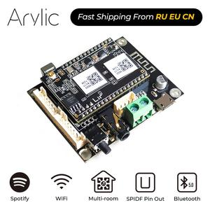 Image 1 - Up2Stream Mini V3 WiFi And Bluetooth 5.0 Audio Receiver Board Module With Spotify Airplay DLNA 24bit 192kHz FLAC Multiroom