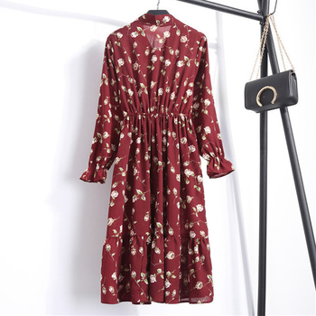 Women Casual Autumn Dress 4