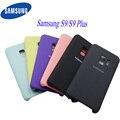 Оригинальный жидкий силиконовый чехол для телефона samsung Galaxy S9 Plus, шелковистый мягкий чехол для телефона samsung S8 S9 S20 Plus