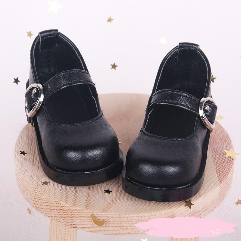 Zapatos BJD 1/3 de cuero de PU a la moda de 7,5 CM para muñecas SD de 60cm, zapatos, accesorios para muñeca bebé|Muñecas|   - AliExpress